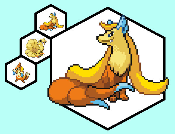 Floatzel And Ninetails By Thepants1 On Deviantart