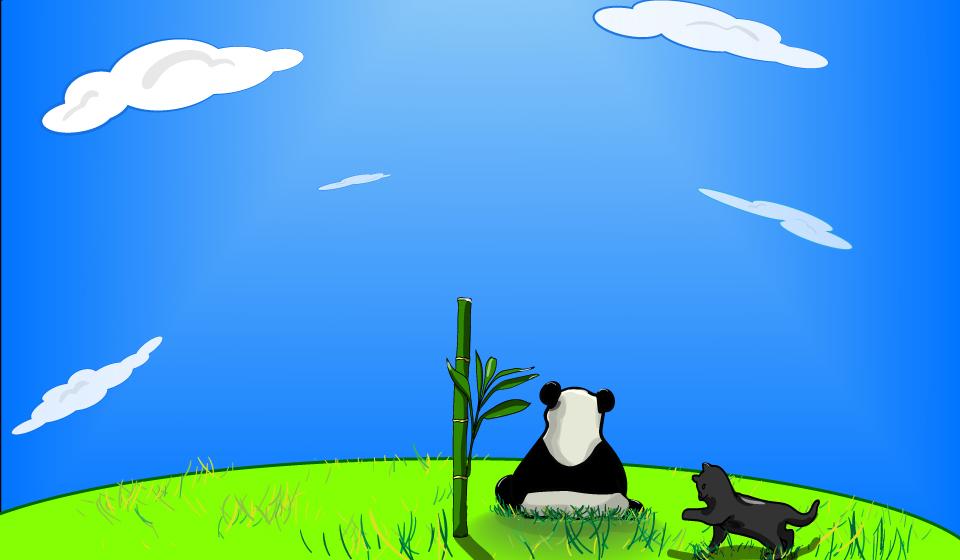 Panda-sur-la-montagne9 by ToruAiiro