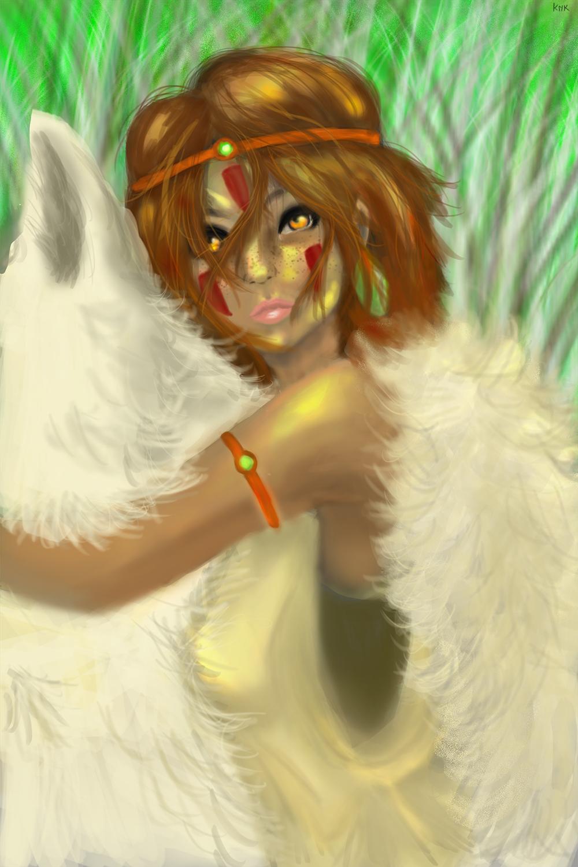 Princess Mononoke by ToruAiiro