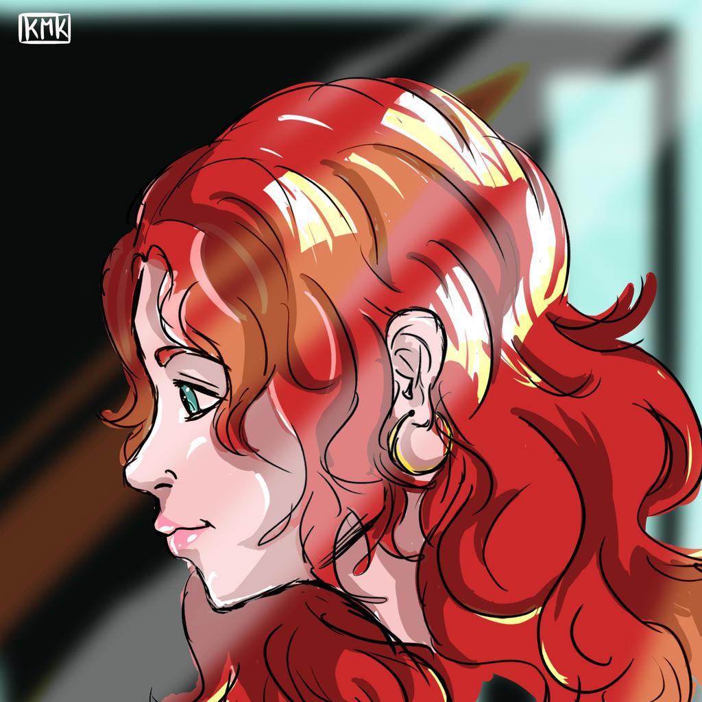Redhair by ToruAiiro