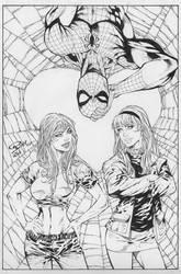 Spider man by ronadrian
