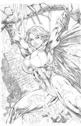 Power girl by ronadrian
