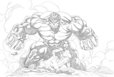 She Hulk End Hulk by ronadrian