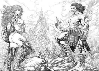 Conan E Sonja Instagran