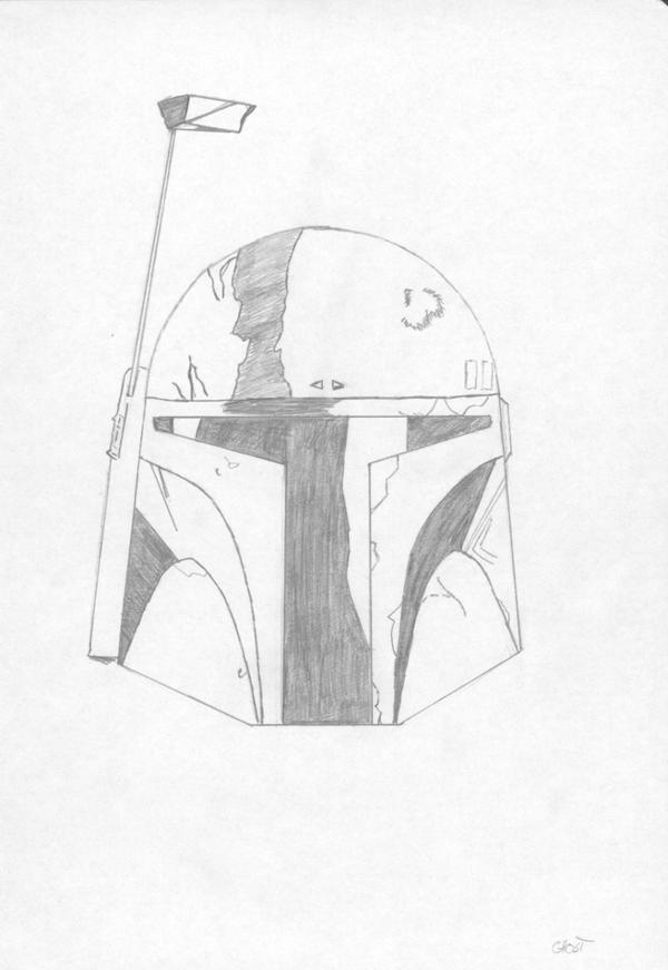 Boba Fett's Helmet by Revan-Ghost on DeviantArt