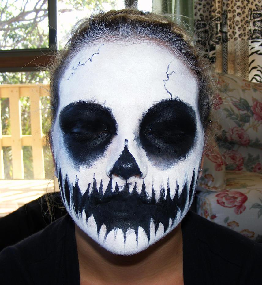 Skull Face Paint 33