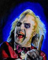 Beetlejuice Portrait by kowaigirl