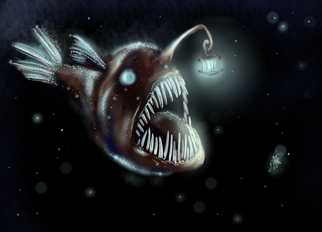 Anglerfish By Whitecrow Soul