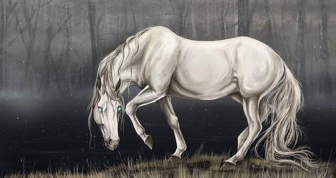 Kelpie by whitecrow-soul