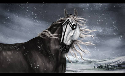 the snow by whitecrow-soul