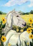 Sunflowers by Vorona-Sidhe
