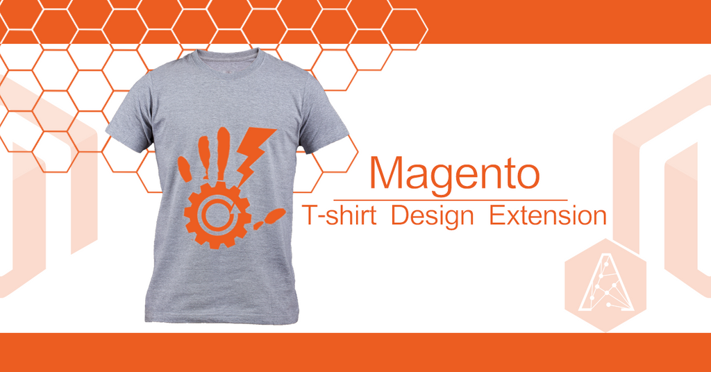 Custom online magento t shirt design software by Apps to design t shirts