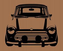 Stencil Design, Mini Cooper by sketchbagz