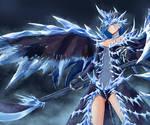 Velkhana the ice dragon