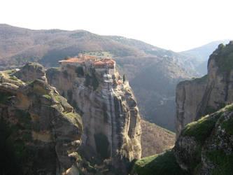 Greek Monastery by honeysunshinetw