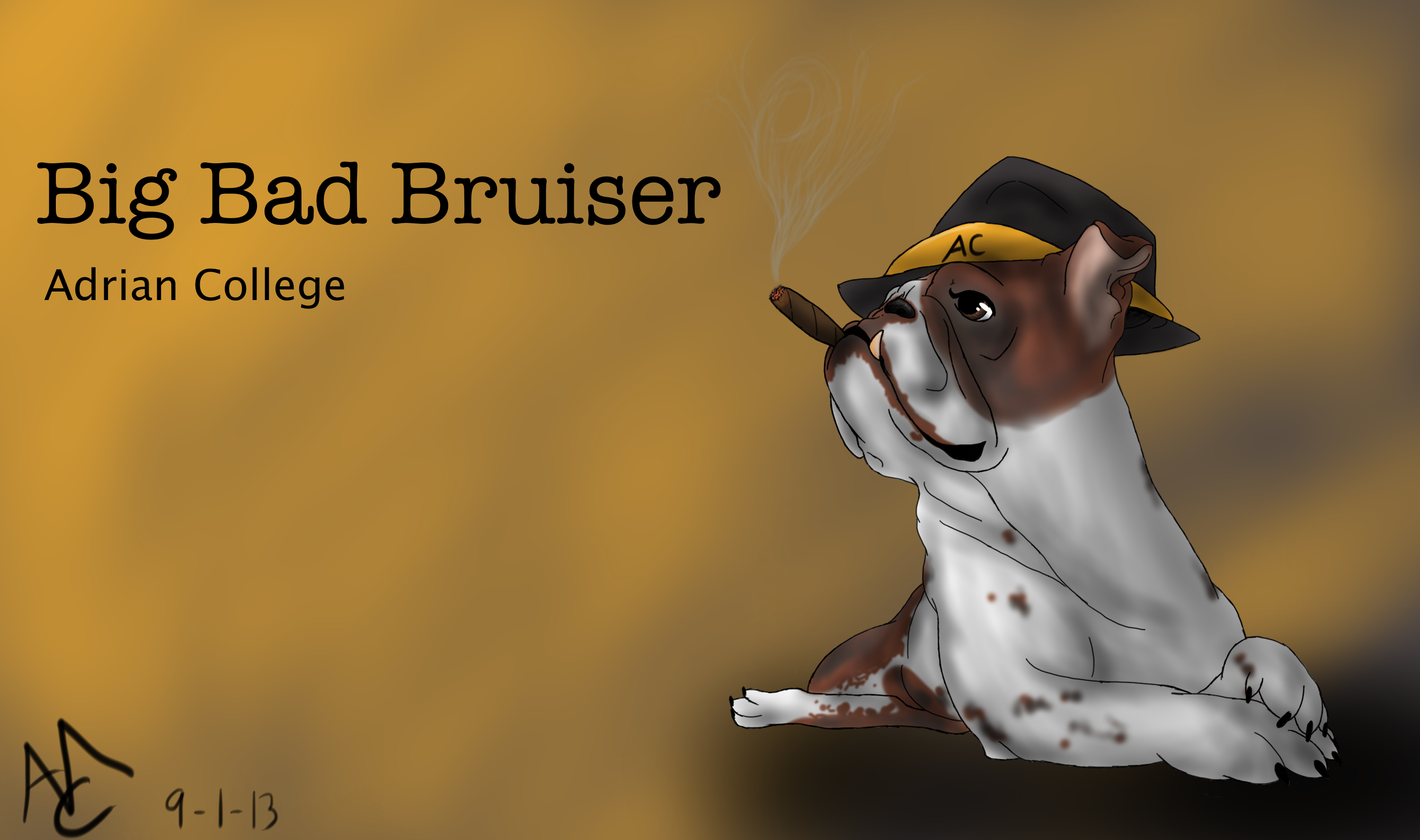 Big Bad Bruiser: Submission For Contest At AC By