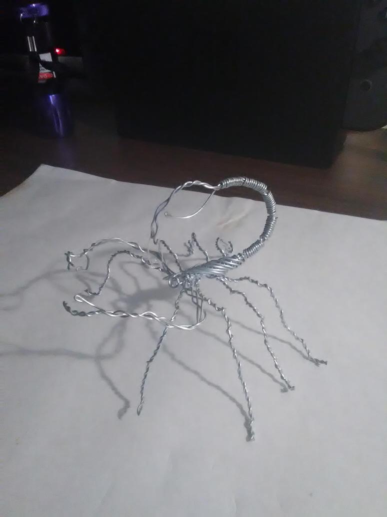 Wire Scorpion by XIIIthHazard on DeviantArt