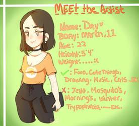 Meet the Artist by Patrial