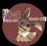 Mimikyu + eevee fusion- Mimee