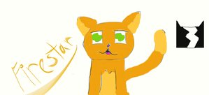 Firestar of THUNDERCLAN by creed12777