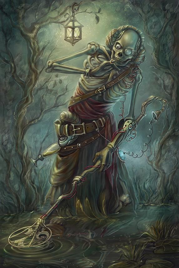 treasure hunter by Girre