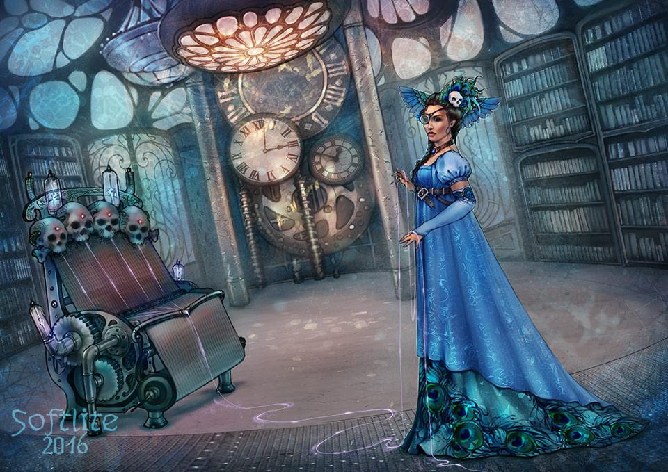 Steampunk Valkyrie by Girre