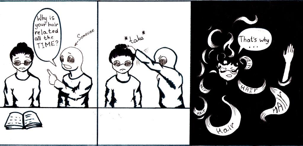 Problems with wavy hair #2 by Victor Schultz by VictorSchultz2