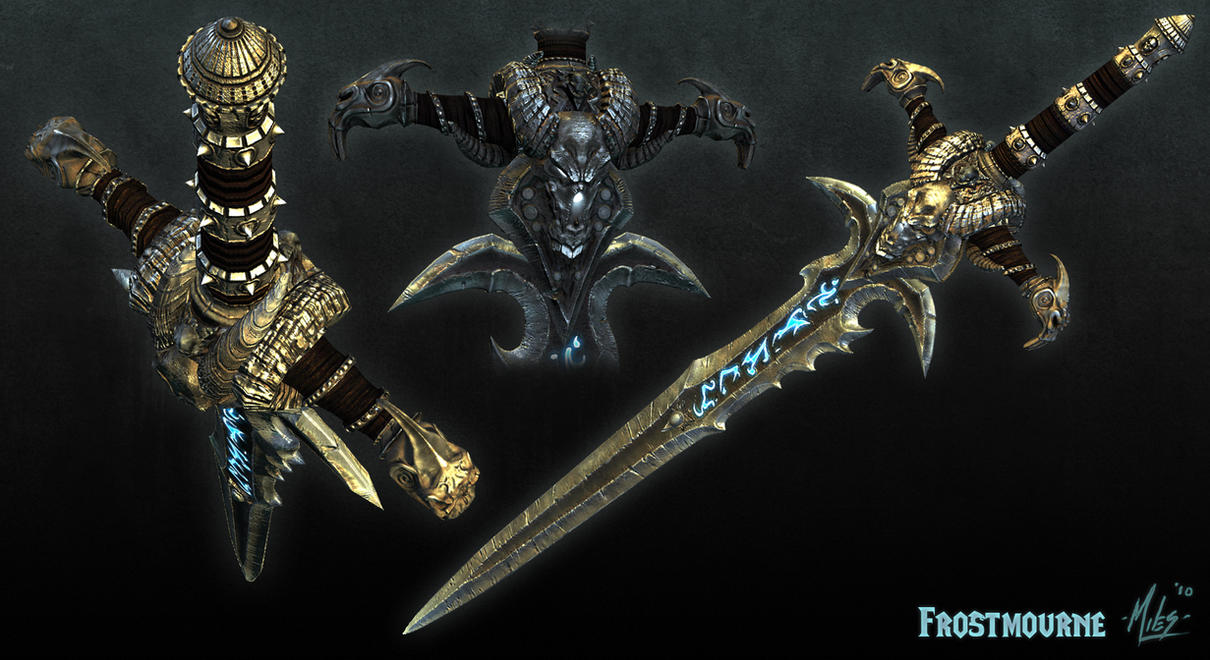 The Black Knight [Weapons 1]  Frostmourne_Angle_Shots_by_31883milesperhour