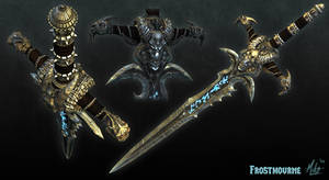 Frostmourne Angle Shots
