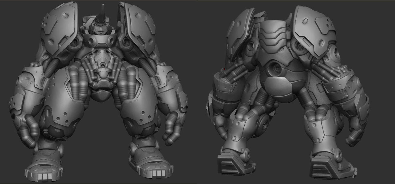 Bot Design HP 01 by 31883milesperhour