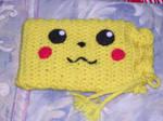 Pikachu 3DS Cozy w/ Drawstring