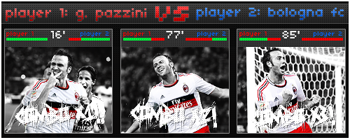 Pazzini in THE GAME!-LuchinoArtwork2012 by Luchino33