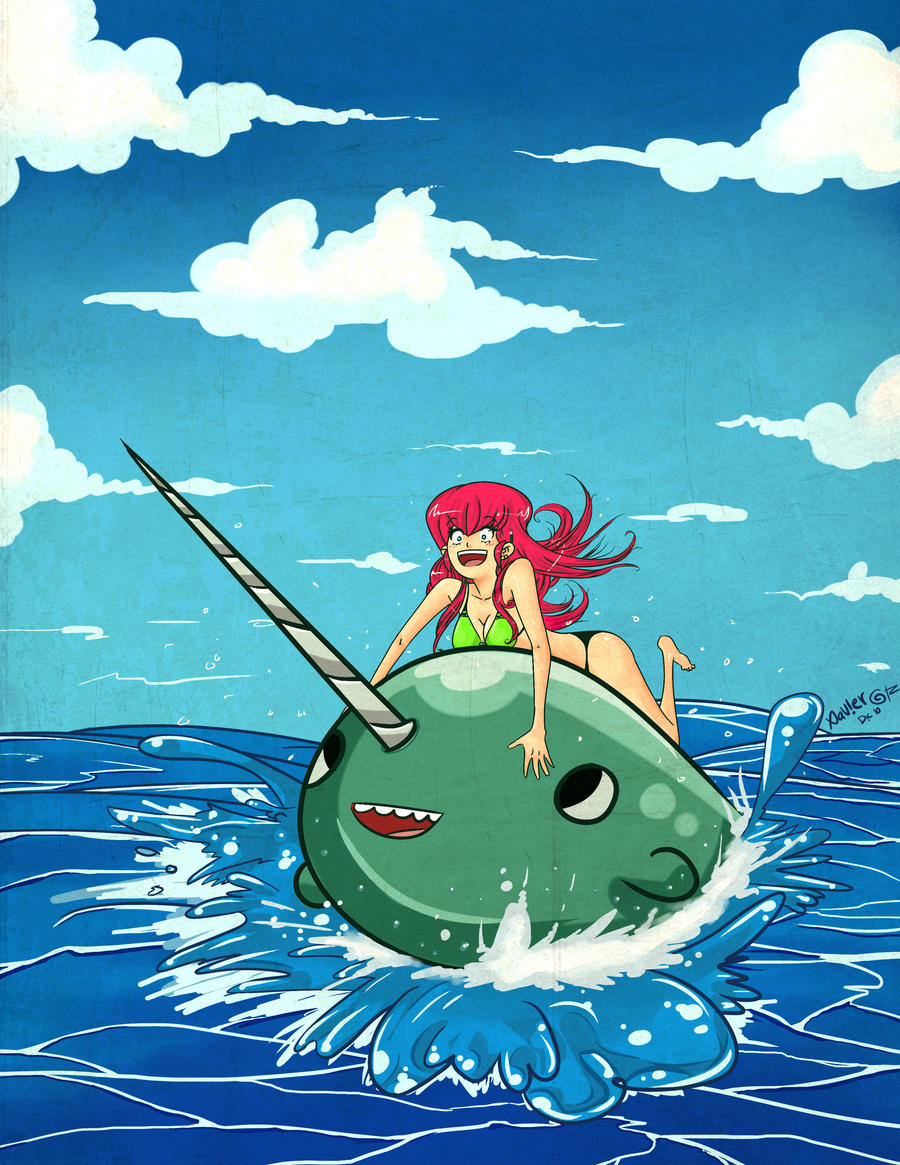 30k kiriban ride the narwhal by exeivier on deviantart