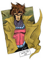 Gambit Sketch Colors by Exeivier