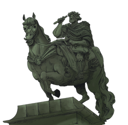 Carlos IV Statue