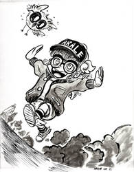 Arale Fanart by Exeivier