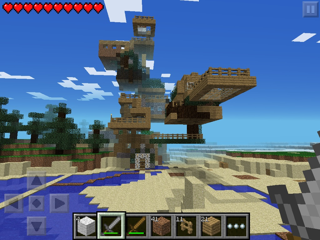 My Minecraft Pe Survival Mode House Of Epicness By Hazelcat13 On Deviantart
