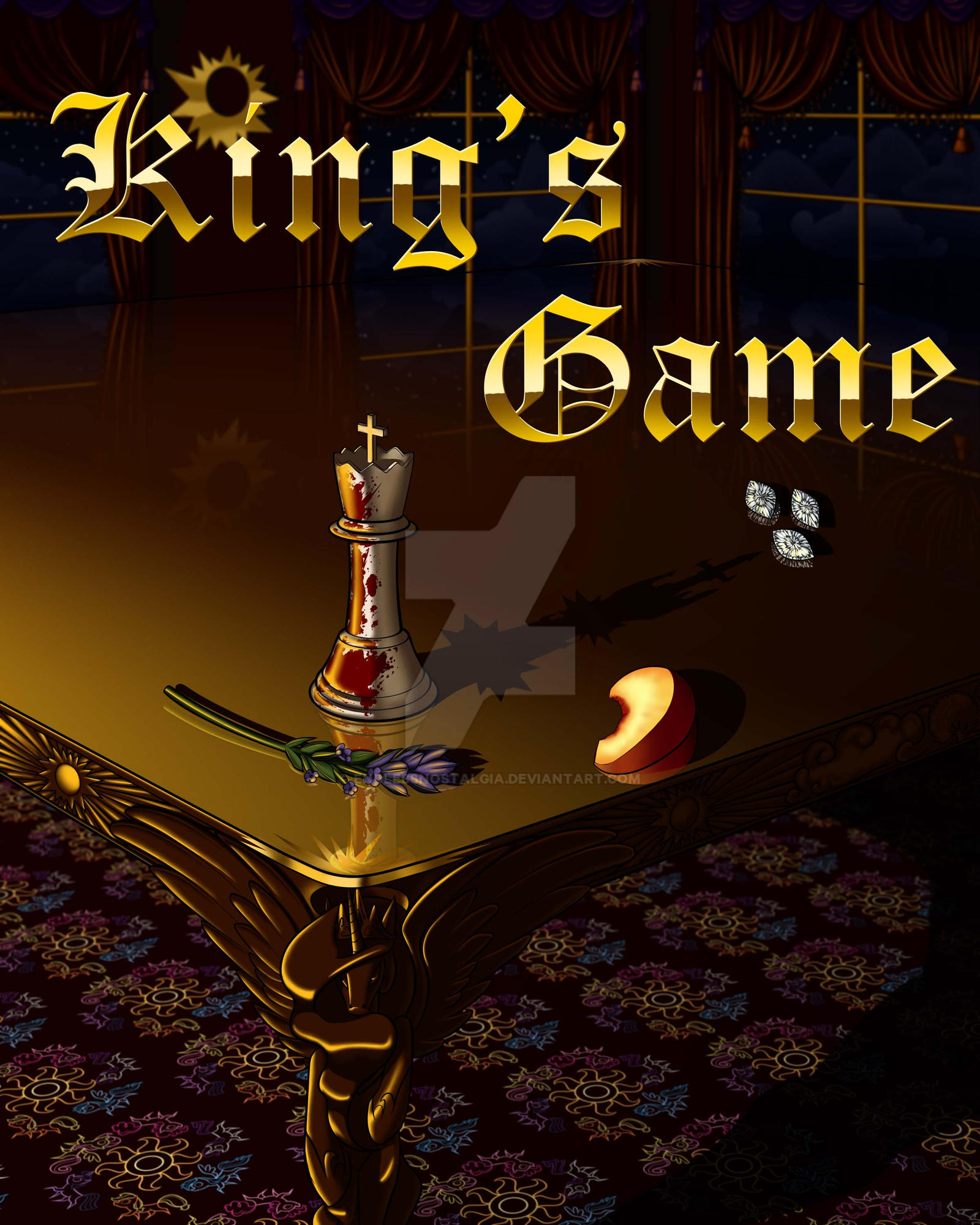 Commission - King's Game Cover by endlessnostalgia