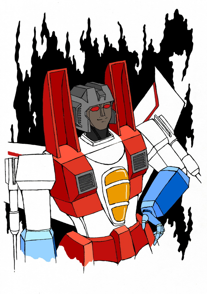 how to draw starscream g1