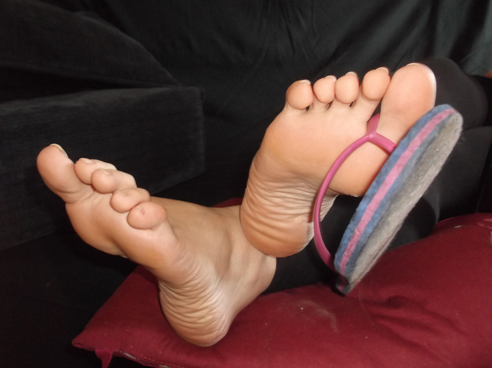 "beautiful feet photo 4*6 в""– 7943"