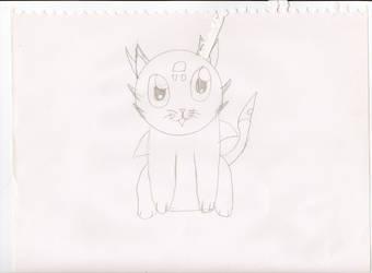 cynder cat by sev498