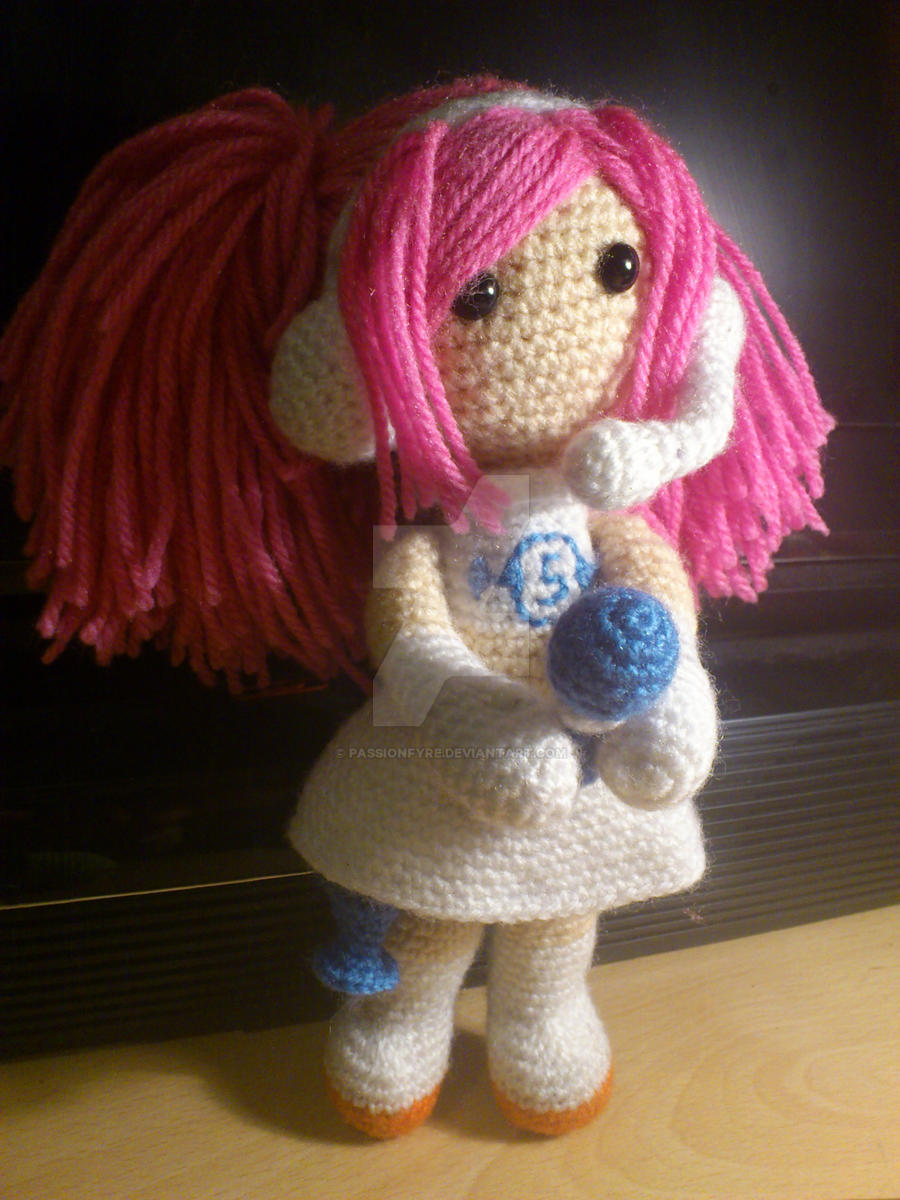 Amigurumi Ulala Doll by passionfyre