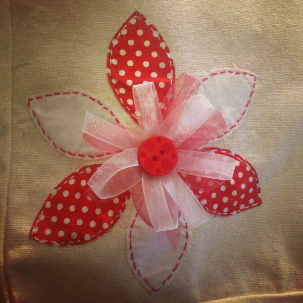 Flower + Ribbon motif by passionfyre