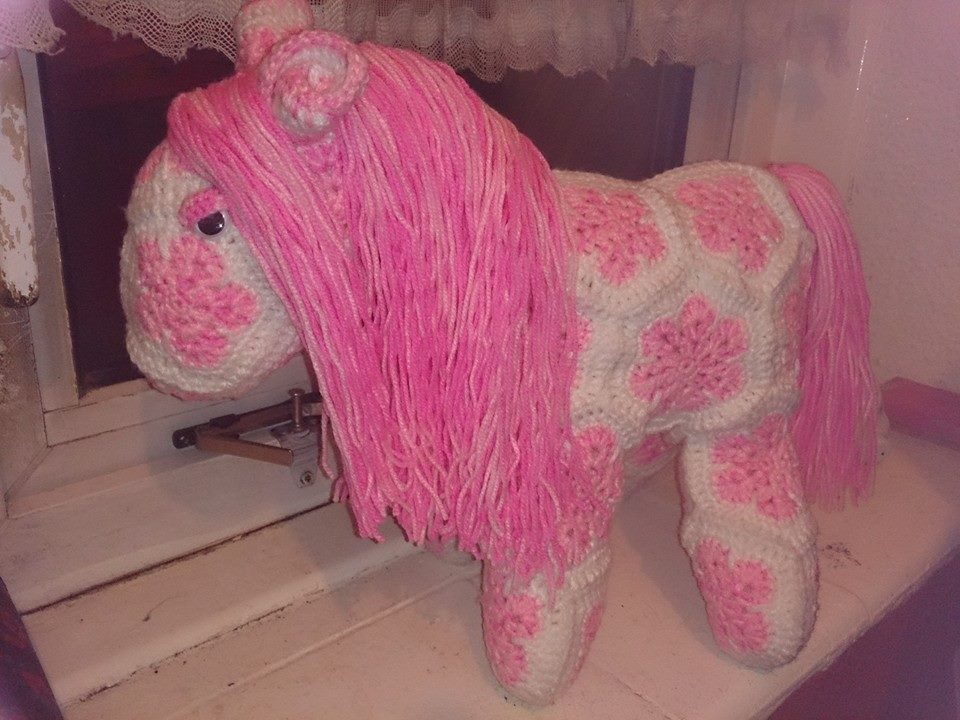 African Flower Pony Crochet Pattern : African Flower Horse by passionfyre on DeviantArt