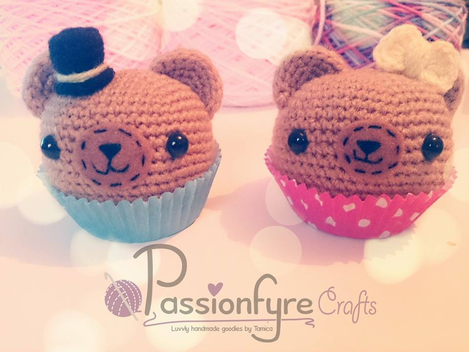 Cupcake Teddies by passionfyre