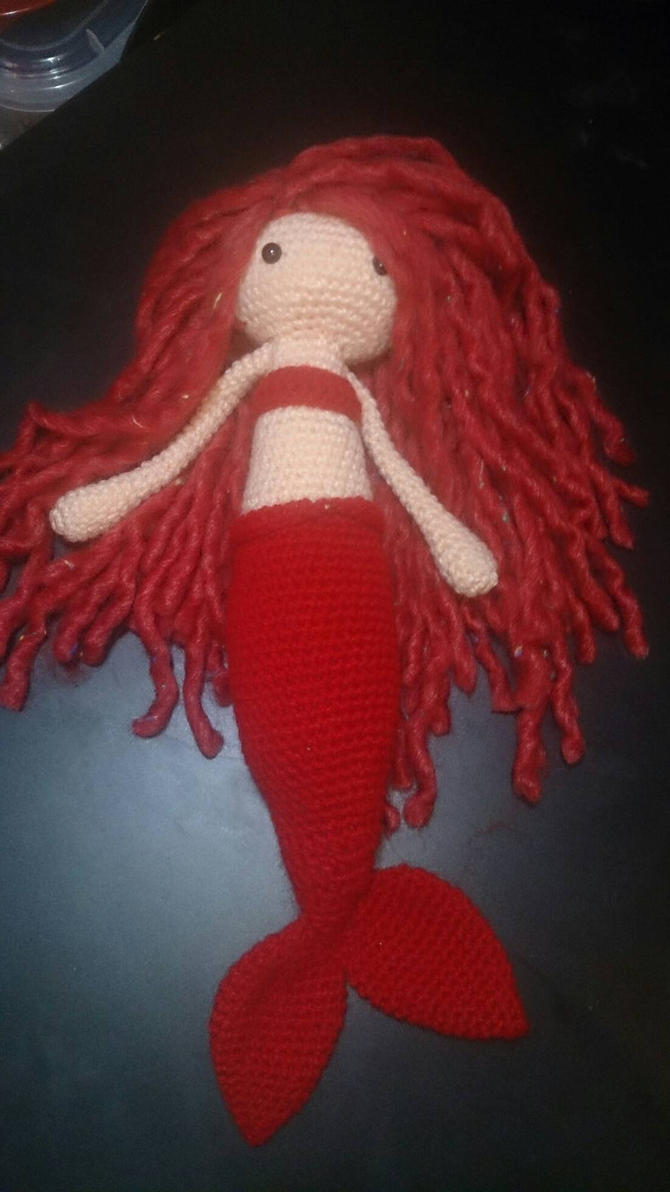 Amigurumi Mermaid by passionfyre