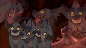 Hyenas wallpaper