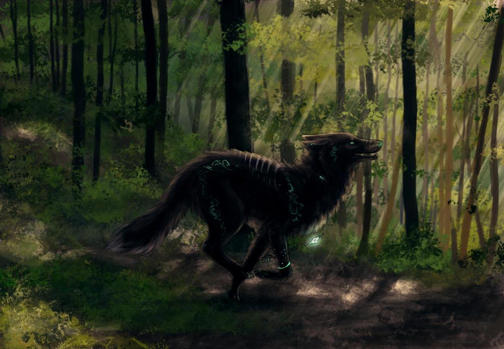 Forest patrol. by Kerwana