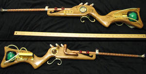 Steampunk Rifle - Overview