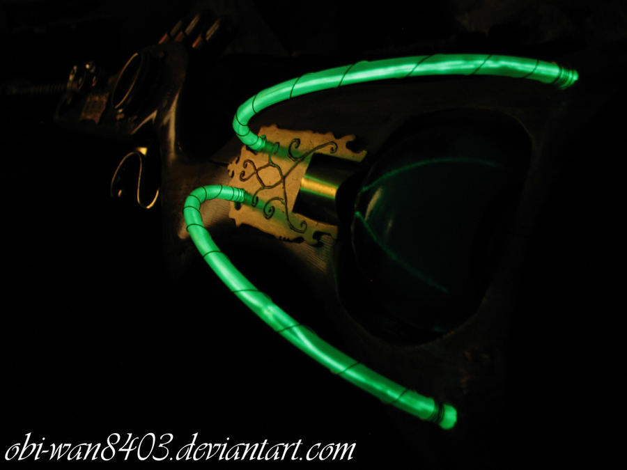 Steampunk Rifle - Glow by obi-wan8403